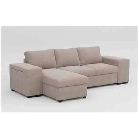 Sofá cama con chaiselogue Mars